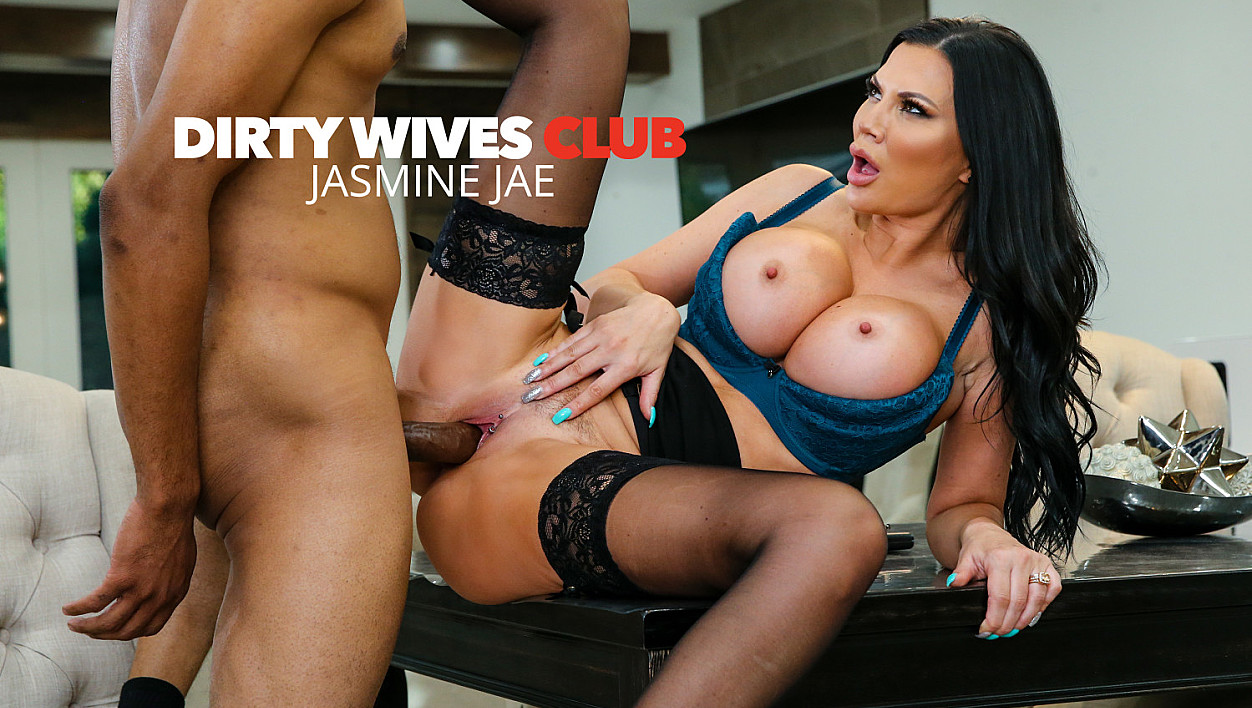 [DirtyWivesClub] Jasmine Jae, Scotty P (Jasmine Jae Helps Herself To A Big Black Cock! / 04.09.2020)