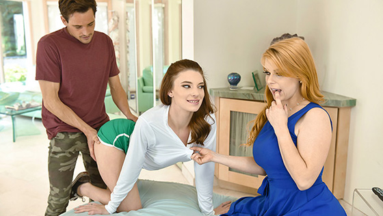 [MylfXTeamSkeet] Jaycee Starr, Penny Pax (Embrace The Ginger And They Will Cum / 09.16.2020)