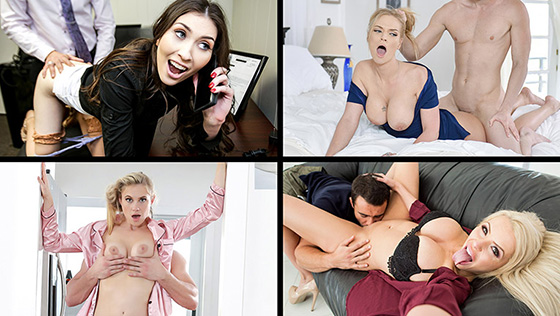 [MylfSelects] Gia Vendetti, Ivy Lebelle, Katie Morgan, Nina Elle (All The Wrong Things / 10.13.2020)
