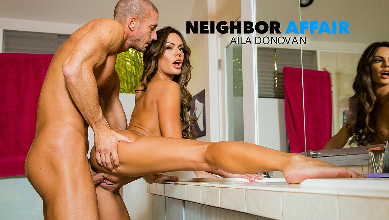 [NeighborAffair] Aila Donovan (Aila Donovan Fucks In The Bathroom / 10.09.2020)