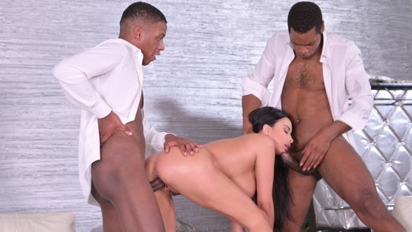 Anissa Kate Devours Two BBC For Breakfast (Anissa Kate) [DDFNetwork]