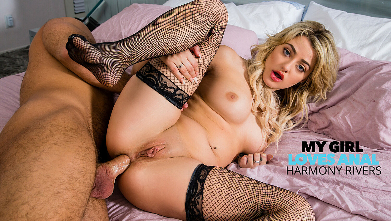 [MyGirlLovesAnal] Harmony Rivers, Chad White (Harmony Rivers Lets Boyfriend Fuck Her Ass For His Birthday / 12.23.2020)