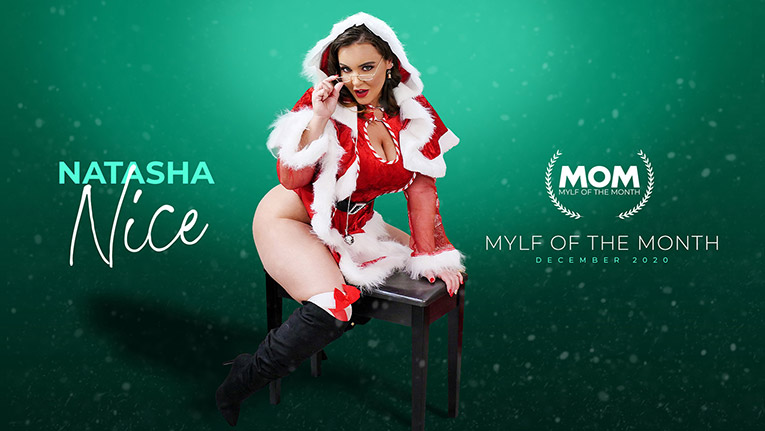 [MylfOfTheMonth] Natasha Nice (Mrs. Claus' Naughty List / 12.25.2020)