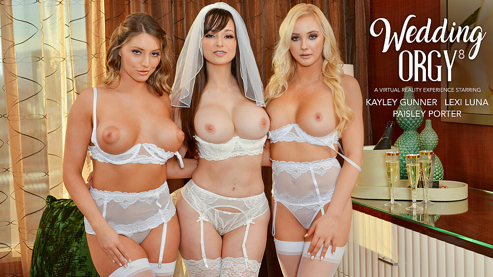 [NaughtyWeddings] Kayley Gunner, Lexi Luna, Paisley Porter (Lexi Luna Is Getting Married And She Wants A Foursome With Her Fiancé And Best Friends, Kayley Gunner & Paisley Porter / 01.29.2021)