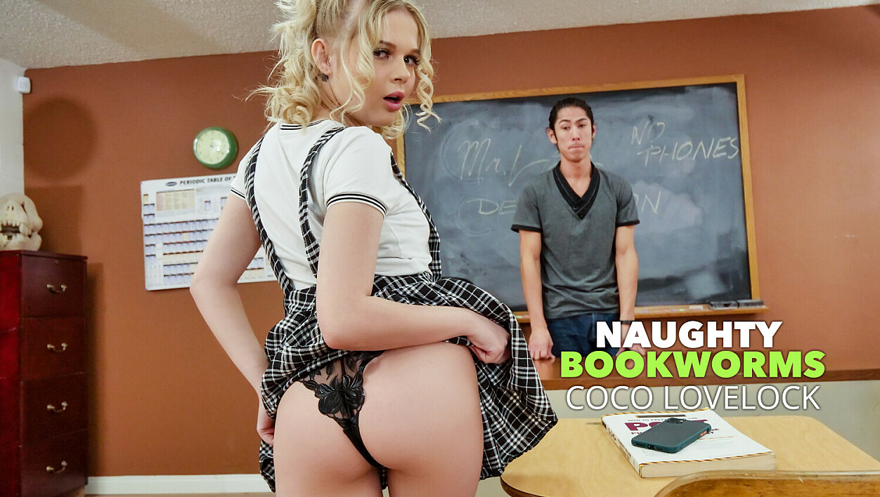 [NaughtyBookworms] Coco Lovelock, David Lee (Coco Lovelock Feels Naughty And Fucks Her Professor In Detention / 02.04.2021)