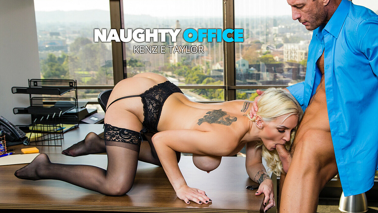[NaughtyOffice] Kenzie Taylor (Kenzie Taylor Fucks Her Boss For That Promotion / 03.08.2021)