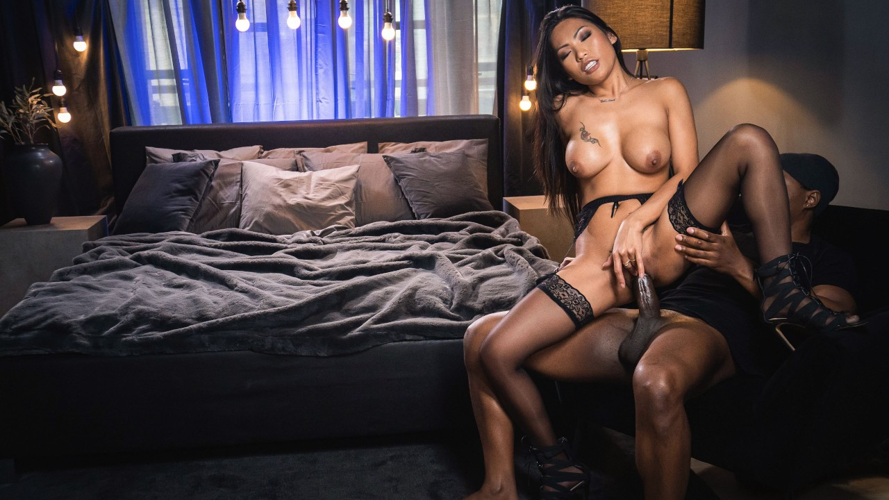 [EroticSpice] Polly Pons (Ebony Dick Fills Pretty Asian Pussy / 04.02.2021)